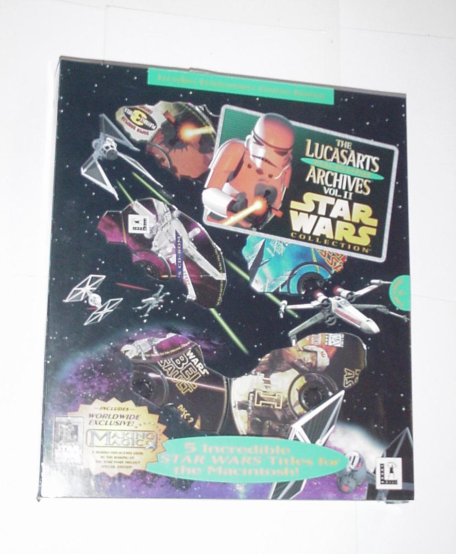 Lucasarts Archives Volume 2 MAC EDITION Complete