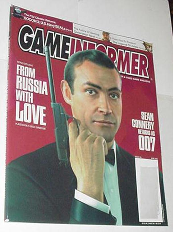 Game Informer 144 NM From Russia With Love Cover H