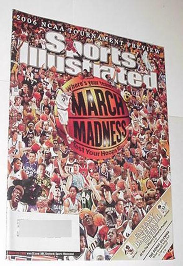 Sports Illustrated Mar 20 2006 NCAA March Madness
