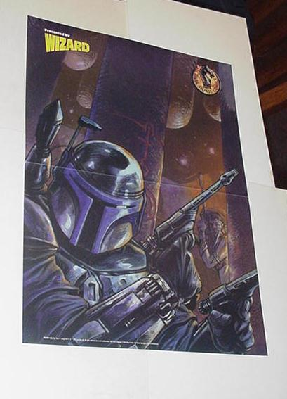 Star Wars Poster #11 Jango Fett by Tom Fowler Boba