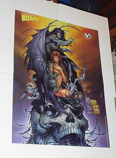 Witchblade Darkness Poster Mike Turner Silvestri