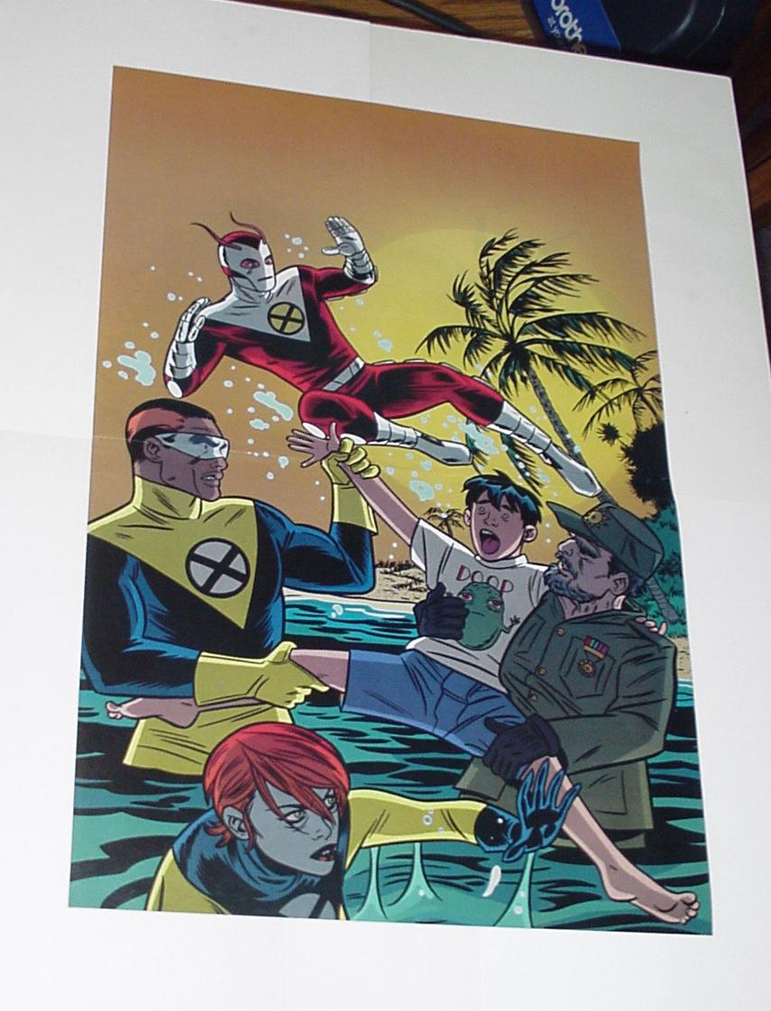 X-Force Poster # 1 Mike Allred Madman FF U-Go Girl